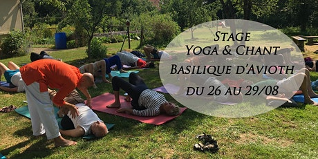 Stage résidentiel Yoga & Chant à Avioth billets