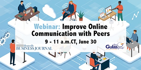 Webinar: Improve Online  Communication with Peers tickets