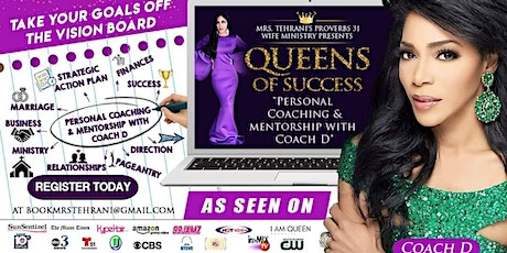 P31 Queens Of Success Personal Coaching & Mentorship With Coach D tickets