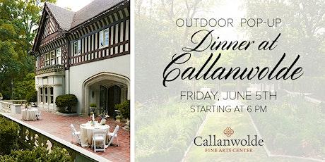 Outdoor Pop-Up Dinner at Callanwolde tickets