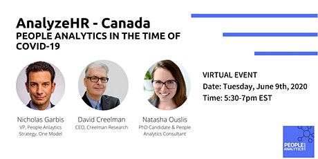 AnalyzeHR - Canada: People analytics in the time of COVID-19 tickets