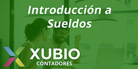 Webinar: Introducción a Sueldos - Xubio Contadores entradas