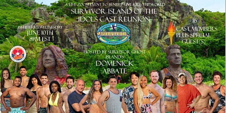 Survivor Island of the Idols Cast Reunion LIVE on Zoom: A benefit for GKTW tickets