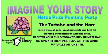 Imagine Your Story Painting Party with Nettie Price tickets