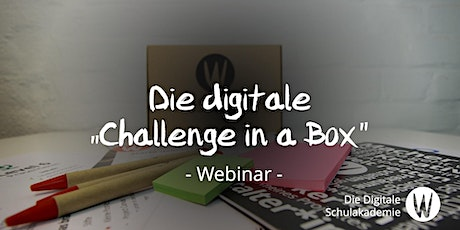 "Die digitale ""Challenge in a Box"" Tickets"