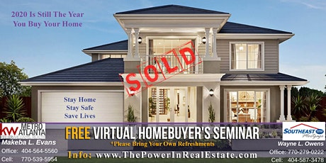 FREE Virtual Homebuyer's Seminar tickets