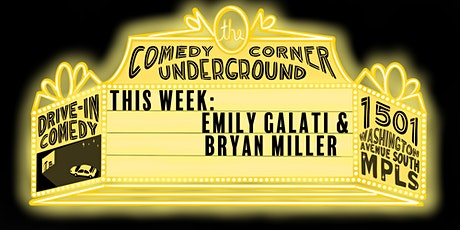 Drive In Comedy with Bryan Miller and Emily Galati tickets