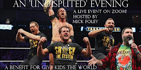 Wrestling News World: An 'UNDISPUTED' Evening for GIve Kids The World tickets