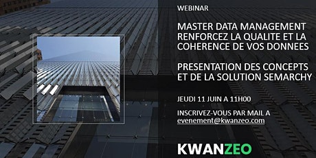 Webinar dédié au Master Data Management (MDM) et à la solution Semarchy billets