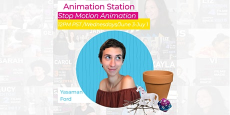 Virtual Stop Motion Animation class  w/Reel Stories on Zoom! tickets