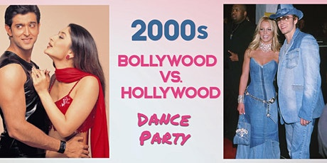 2000s Bollywood vs Hollywood - Jai Ho! Virtual Party tickets