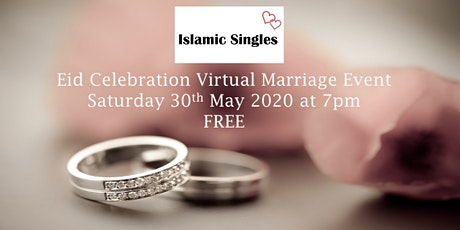Single Muslim Professionals  Online Virtual Marriage Networking Event tickets