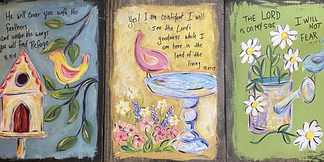 Painter's Choice...Whimsical Birds on Wood tickets