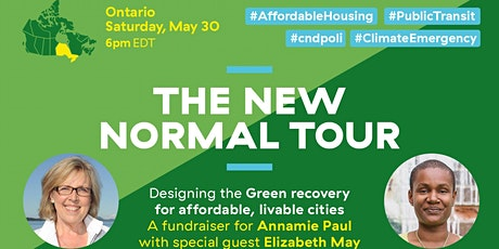 The New Normal Tour: Elizabeth May and Annamie Paul tickets