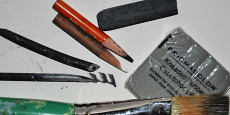Online Charcoal Drawing with ShawnaLee tickets