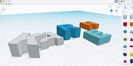 Intro to 3D Design & Print for UVic Libraries' DSC - June 9, 2020 tickets