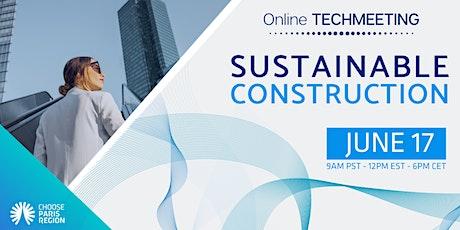 WEBINAR - Sustainable Construction tickets