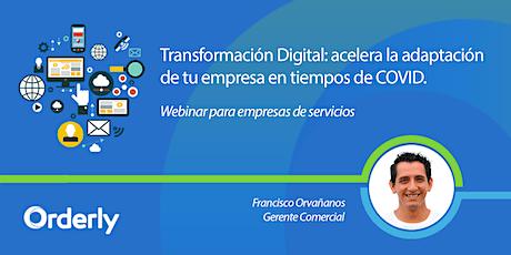 Webinar: Transformación Digital en tiempos de COVID entradas