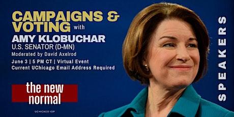 U.S. Senator Amy Klobuchar (D-MN) tickets