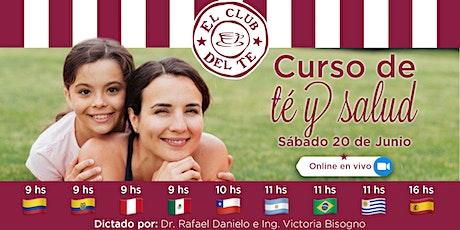 Curso de Té y Salud Online en VIVO entradas