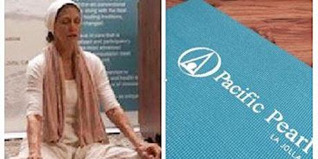 Saturday Zoom Kundalini Yoga Classes at The Pacific Pearl tickets