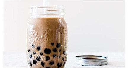 Homemade Oat & Almond Milk BUBBLE TEA w Renee + Yoga Flow w Nicole! tickets
