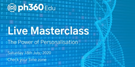 The Power of Personalisation (18-07) tickets