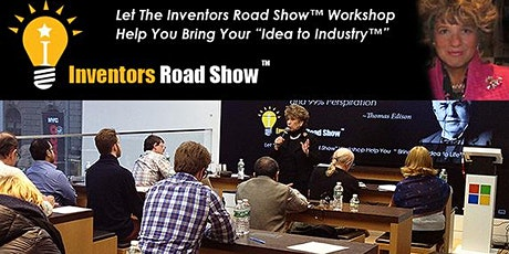 "JOIN OUR ZOOM WEBINAR ""BRING YOUR IDEA TO INDUSTRY & RECEIVE A FREE BOOK tickets"