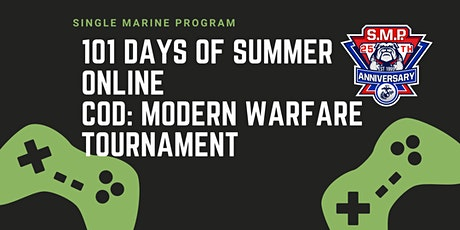 SM&SP FREE Online Call of Duty: Modern Warfare Tournament tickets