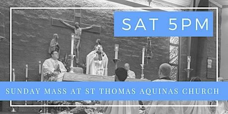 Saturday Vigil Mass, June 6- Holy Mass 5 pm tickets