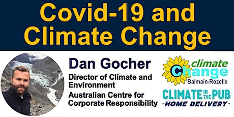 Climate in the Pub: Home Delivery - Dual Crises: Covid19 & Climate Change tickets