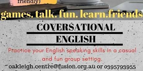 Conversational English tickets
