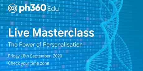 The Power of Personalisation (18-09) tickets