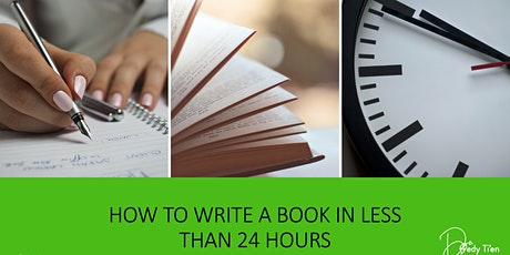How To Write A Book In Less Than 24 Hours tickets