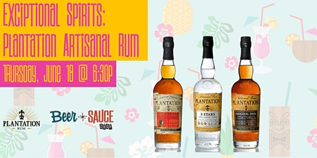 Exceptional Spirits: Plantation Rum School tickets