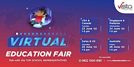Biggest Virtual Education Fair 2020 by Vista Education tickets