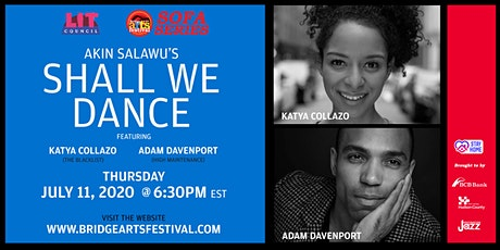 Bridge Arts Festival Sofa Series presents SHALL WE DANCE - A Virtual Play tickets