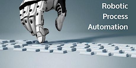 Robotic Process Automation (RPA) - Vendors, Products Training in Rome biglietti