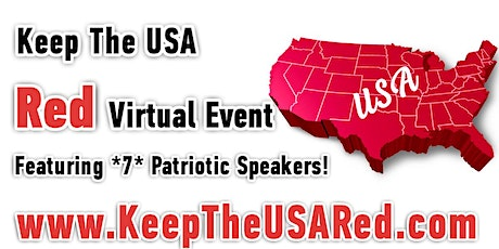 Keep the USA Red Virtual Event - John Di Lemme, Mike Lindell, & 7 Speakers tickets