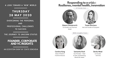 Responding to a crisis : Resilience, mental health and innovation tickets