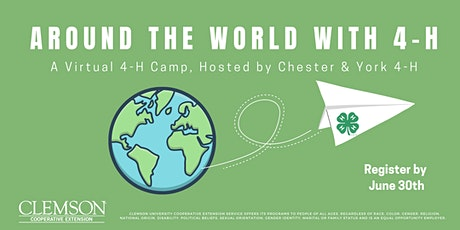 Around the World with 4-H: A Virtual 4-H Camp tickets