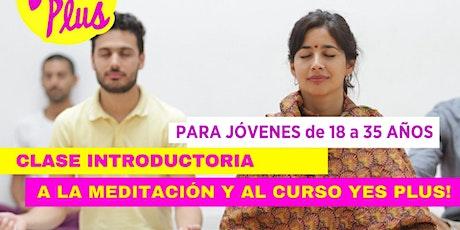 Clase de Prueba Gratis, Introductoria al Curso Yes!+ Plus entradas