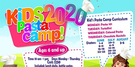 Kid's Pasta Camp Ages 6+ tickets