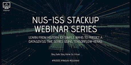 Simple ways to predict a Data.gov.sg time series using Tensorflow-keras tickets