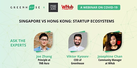 Singapore VS Hong Kong: Startup Ecosystems tickets