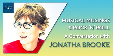 MUSICAL MUSINGS AND ROCK 'N' ROLL: A Conversation with Jonatha Brooke tickets