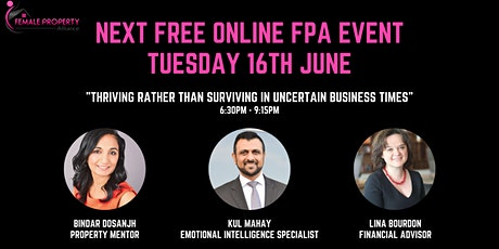 Thriving Rather than Surviving in Uncertain Business Times tickets