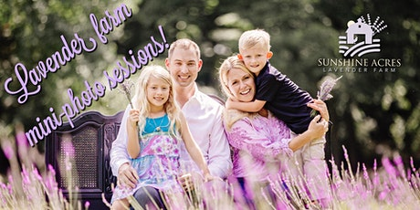 Lavender Farm Mini Sessions tickets