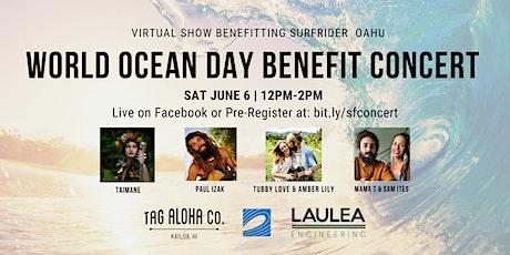 World Ocean Day Benefit Concert tickets