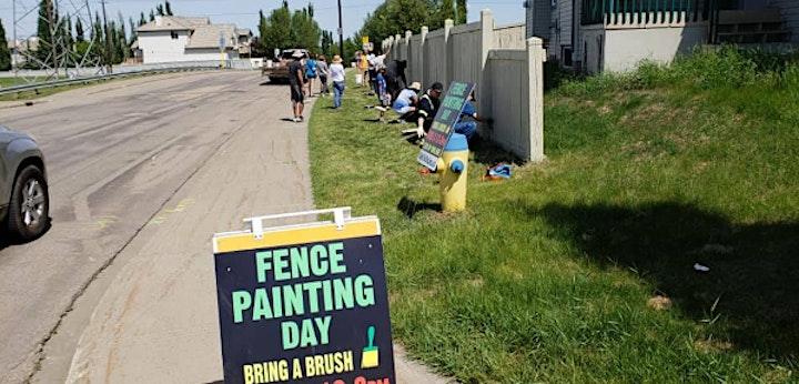 Community Fence Painting Day 2021 image